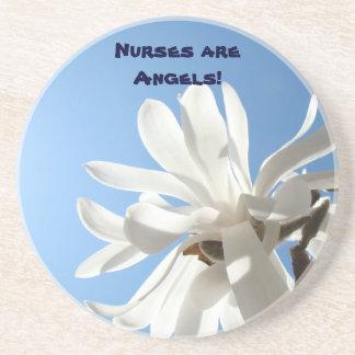 Sjuksköterskor är änglar! underlägg för