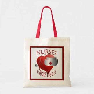 Sjuksköterskor har toto för hjärtasjuksköterskabud kasse