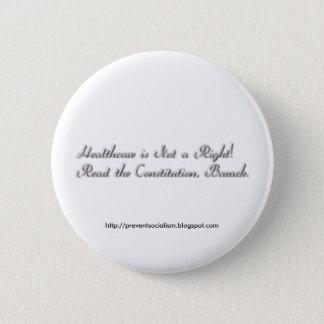 Sjukvård inte en höger standard knapp rund 5.7 cm