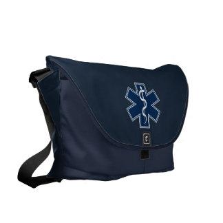 Sjukvårdare EMT EMS Messenger Bag