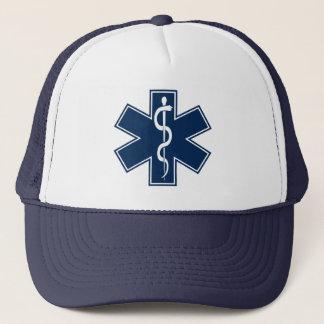 Sjukvårdare EMT EMS Truckerkeps