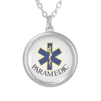 Sjukvårdare Silverpläterat Halsband
