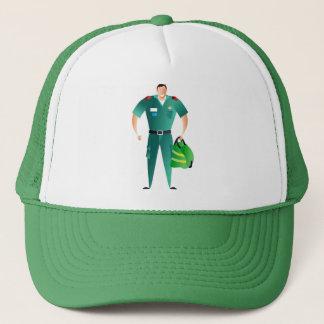 Sjukvårdare Truckerkeps