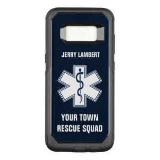 Sjukvårdarenamn och Squad för EMT EMS OtterBox Commuter Samsung Galaxy S8 Skal