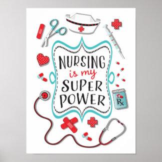 Sjukvården är min toppen driver affischtrycket poster