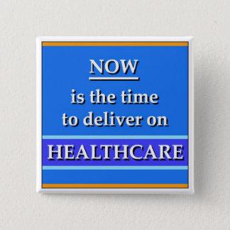 Sjukvården knäppas standard kanpp fyrkantig 5.1 cm