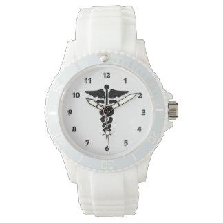 Sjukvårdläkarundersökningsymbol Armbandsur