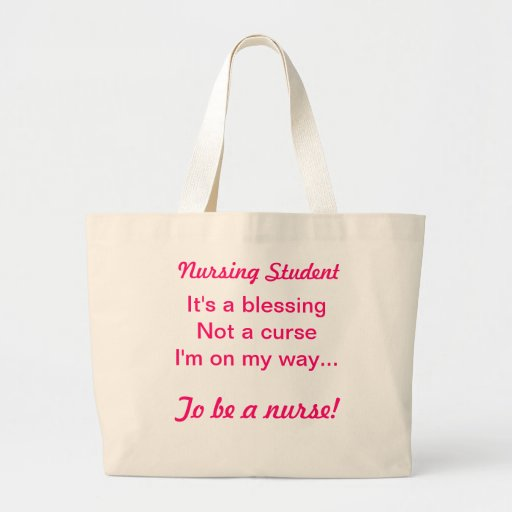 Sjukvårdstudent Tote Bags
