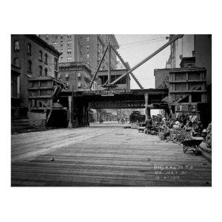 Sjunde aveny och 53rd gataNew York City foto Vykort