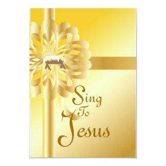 Sjunga för Jesus-Att skräddarsy 12,7 X 17,8 Cm Inbjudningskort