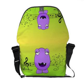 Sjunga för monster kurir väskor