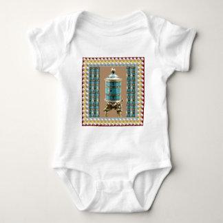 Sjunga rulla, Gong, skytteln - buddism Nepal T-shirts