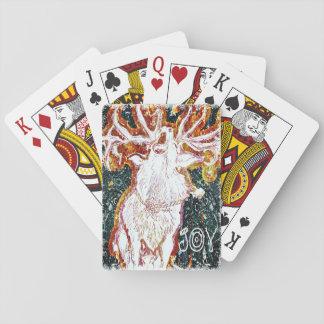 Sjungande hjort för glädje casinokort