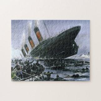 Sjunka Titanic RMS Jigsaw Puzzle