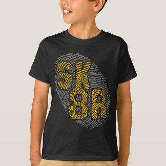sk8r identifierar med fingeravtryck t-skjortan t shirt
