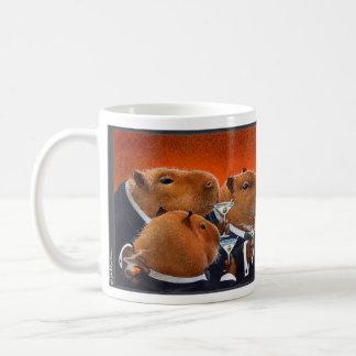 """Ska Bullas rånar """"Capybaraklubben… """", Kaffemugg"""