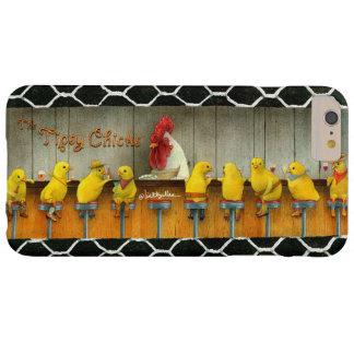 """Ska Bullas ringer fodral """"lätt berusade chickar… Barely There iPhone 6 Plus Fodral"""