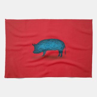 Ska det gör grisen… kökshandduk