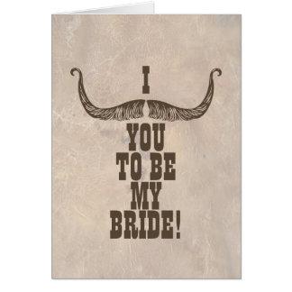 Ska dig att gifta sig mig? OBS kort