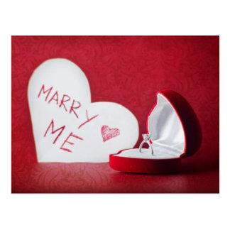 Ska dig att gifta sig mig vykort