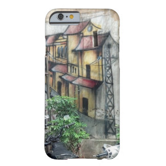 Ska dig resa med mig? Hanoi grafitti Barely There iPhone 6 Skal