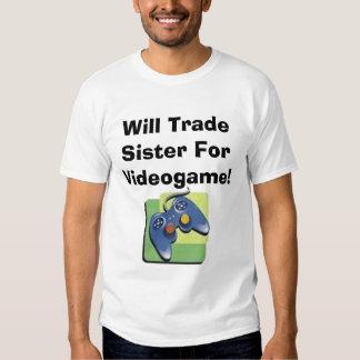Ska handelsyster för Videogame! Tee