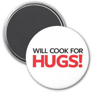 Ska kock för kramar magnet