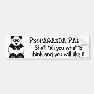 Ska propaganda l5At dig veta vad för att tänka Bildekal