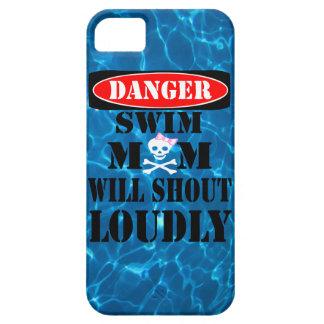 Ska ropet för farasimman ringer mamman högt fodral iPhone 5 Case-Mate fodral