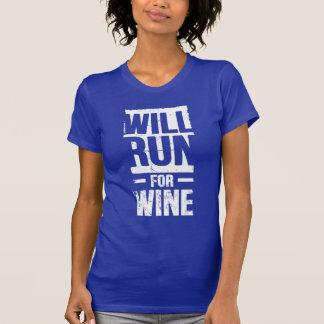 ska springa för vin t shirts