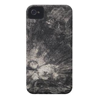 Ska stiger hon igen? vid Francisco Goya iPhone 4 Case