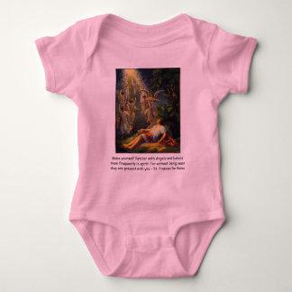 skåda den begynna onsierankan för änglar tee shirt