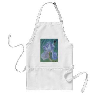 Skäggig Iris för lavendel Förkläde