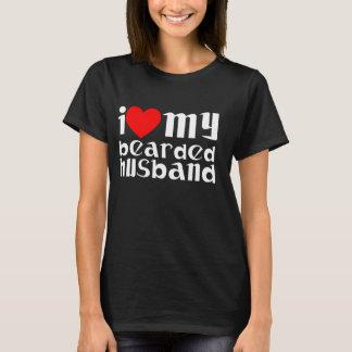 Skäggig skjorta för make T T-shirts