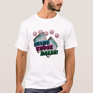 Skaka de bollar med lutande 3D verkställer Tee Shirts