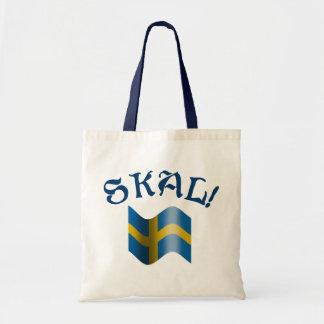 Skal! Svensken rostar från sverige Budget Tygkasse