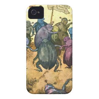 Skalbaggar som firar Midsummer iPhone 4 Cases