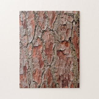 Skäll på ett grästräd pussel