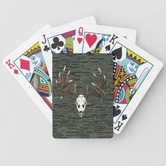Skalle 1 för Whitetailhjort Spelkort