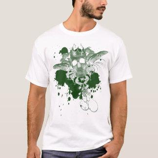 Skalle-Couture-Grönt Tee Shirts