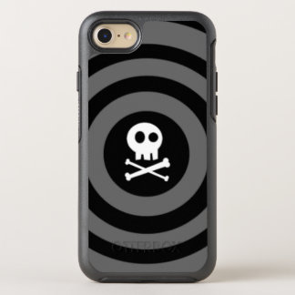 ~-skalle + Crossbones~ OtterBox Symmetry iPhone 7 Skal