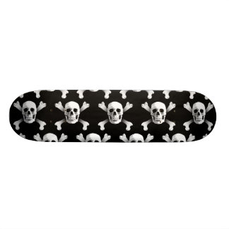 Skalle & Crossbones/Skateboard Skateboard Bräda 20 Cm