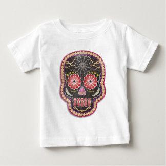 Skalle för Folk konst - day of the dead Tee Shirt