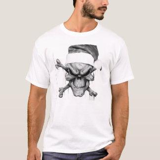 Skalle för jultomtenjulaftondöd t-shirt