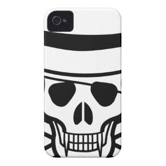 skalle-hatt iPhone 4 Case-Mate case