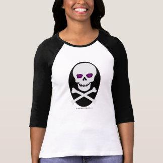 Skalle med lilaögon - skjorta tröjor