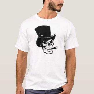 Skalle med top hat och cigarren tröja