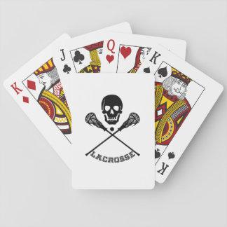 Skalle- och Lacrossepinnar Spelkort