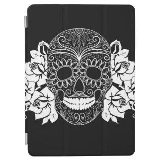 Skalle och ro, svartvit day of the dead iPad air skydd