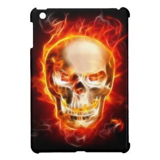Skalle på Fire det mini- fodral #2 för iPad iPad Mini Fodral